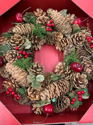 Woodland Berry Artifical Wreath
